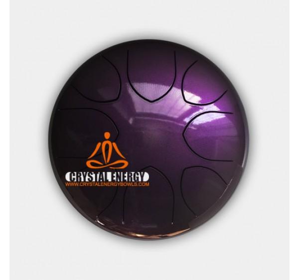 steel tongue drum purple color 12 inch