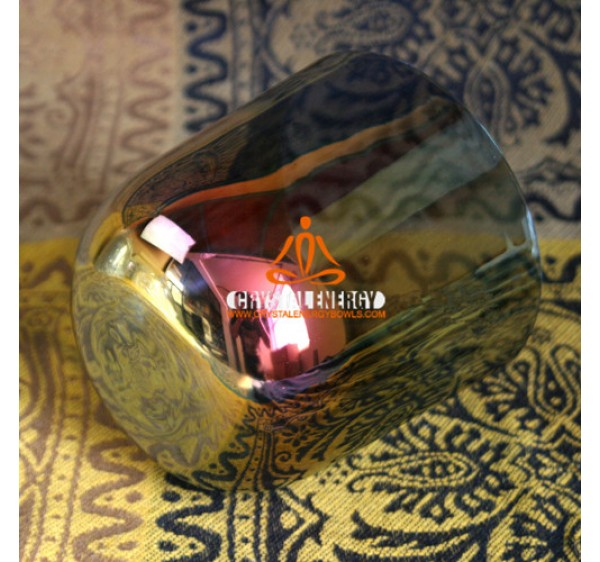 Cosmic rays crystal singing bowl for chakra sound