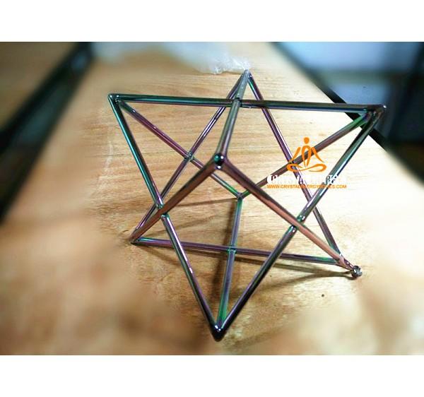 Cosmic rays crystal singing Merkaba 5 inches